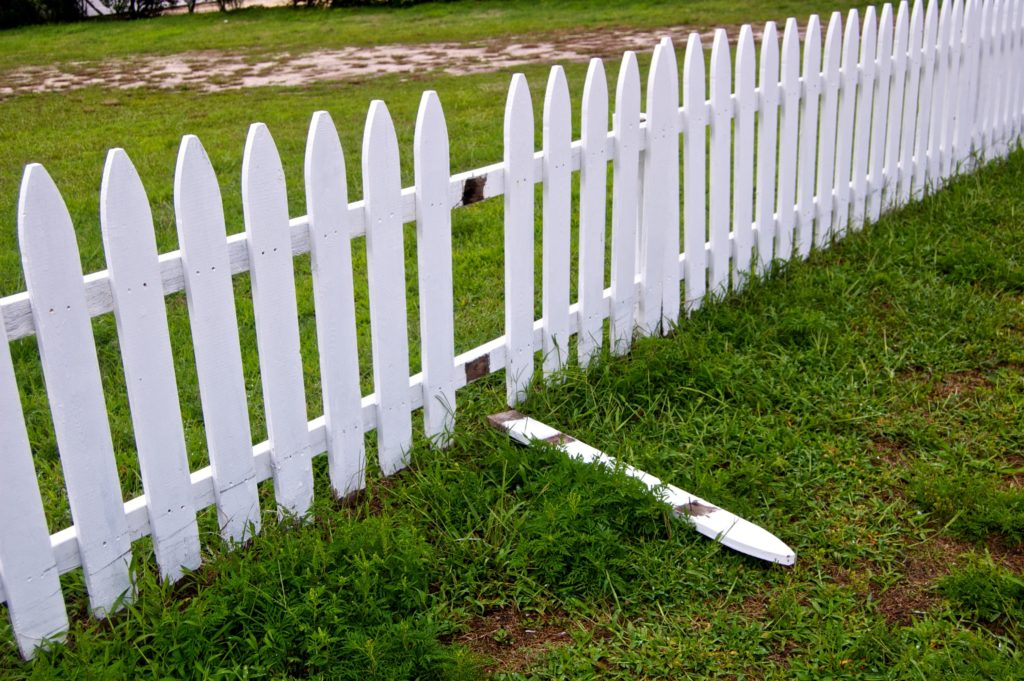 Picket Fence with one picket down. It's Over. What Now? LeadQuine