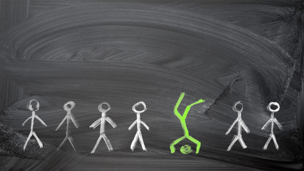 LeadQuine What do they really want? stick people on a blackboard communication really