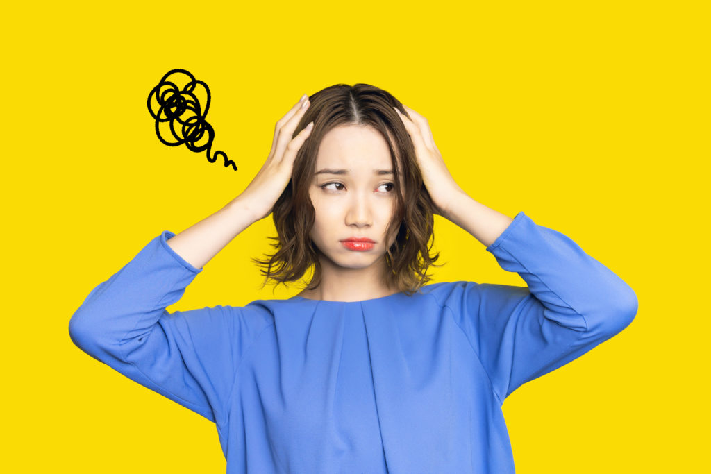 LeadQuine Ask for what you need - frustrated woman